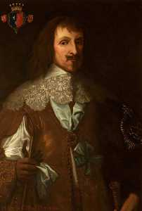 Edward Travanyon Haynes - Philip Herbert (d.1650), 4th Earl of Pembroke (after Anthony van Dyck)