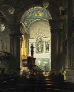 William Somerville Shanks - The Chancel, St Andrew-s Parish Church, Glasgow