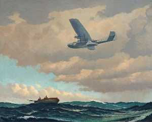 Roy Anthony Nockolds - Catalina on Air Sea Rescu..