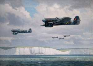Roy Anthony Nockolds - Typhoons over the Channel
