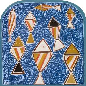 Antonia Phillips - -Dreams of Australia- Series, Fish