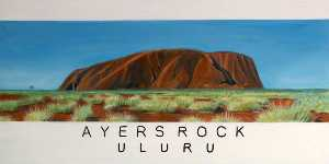 Antonia Phillips - -Dreams of Australia- Series, Ayers Rock