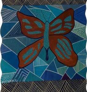 Antonia Phillips - -Dreams of Australia- Series, Butterfly