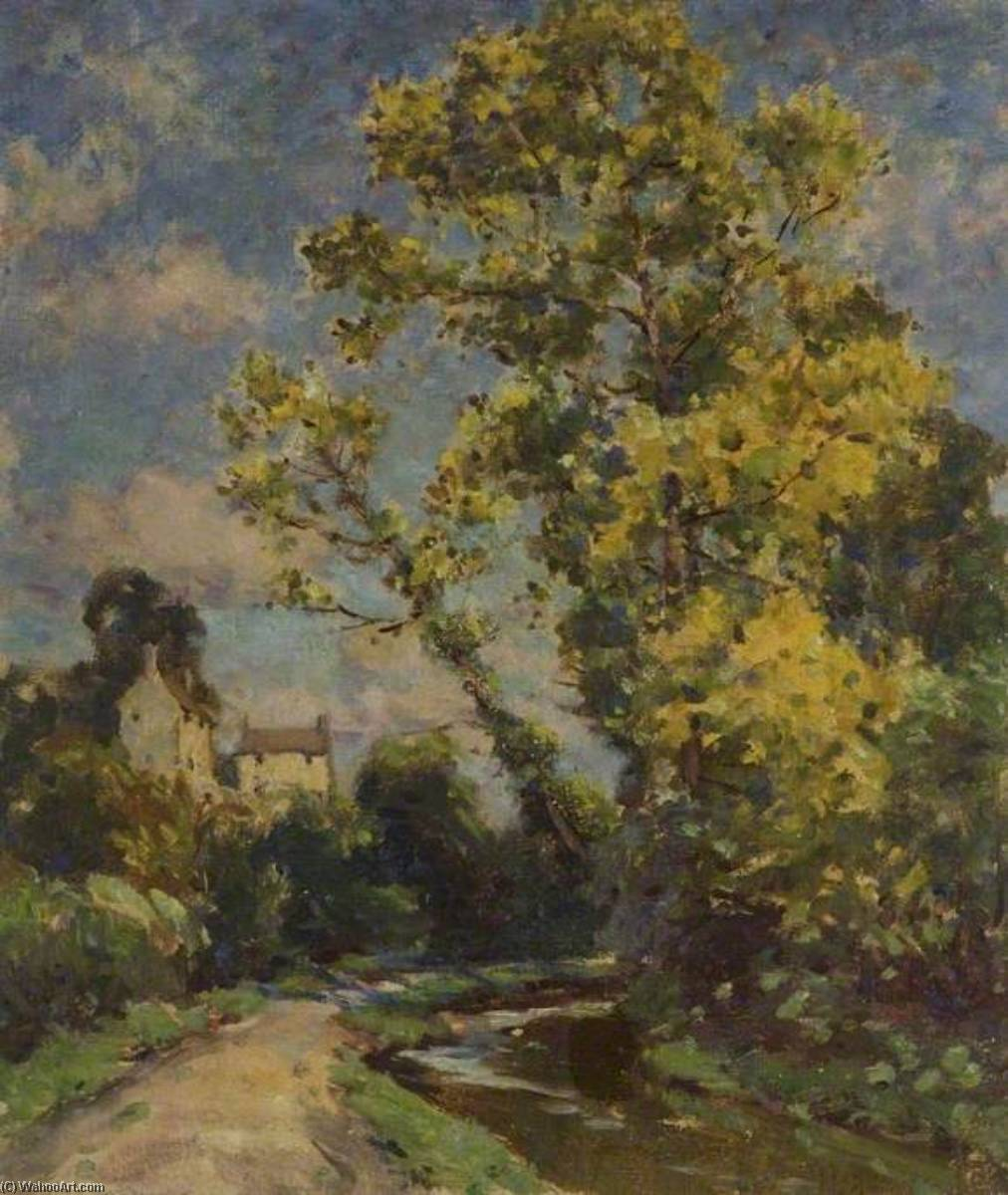 Autumn in the Cotswolds by Gertrude Crompton | Painting Copy | ArtsDot.com