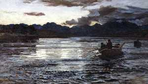 Colin Hunter - Summer Fishing, Skye
