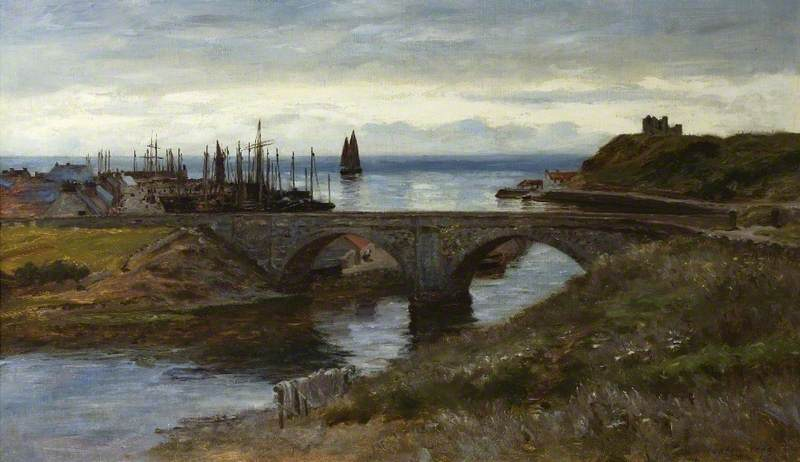 The Mouth of the Helmsdale, 1898 by Colin Hunter | Art Reproductions Colin Hunter | ArtsDot.com