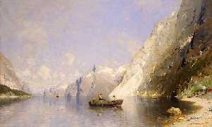 Georg Anton Rasmussen - Fjord in Norway