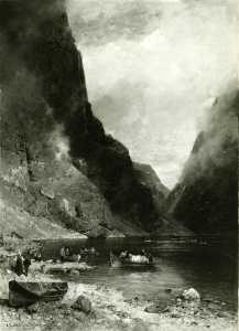 Georg Anton Rasmussen - Gudvangen in Norway