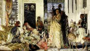 John Frederick Lewis - The Harem Introduction of..