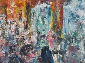 Jack Butler Yeats - The Talkers