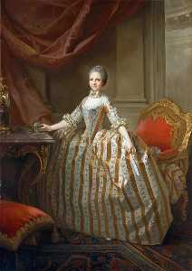 Laurent Pecheux - Maria Luisa of Parma (175..