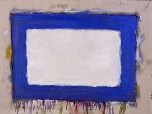 Gene Bernard Davis - Blue Rectangle II