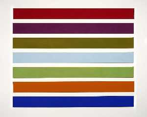 Gene Bernard Davis - Wall Stripes No. 3