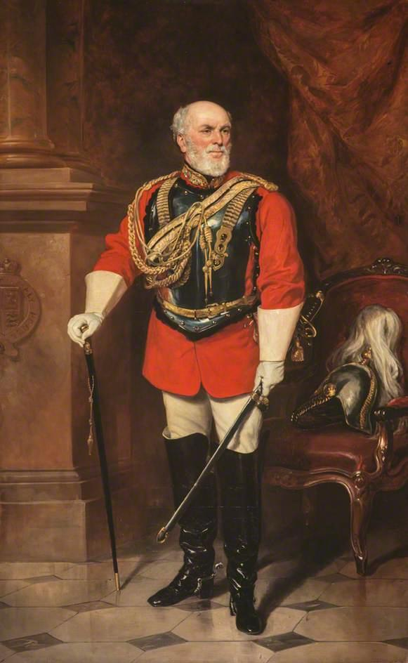 George Hay, 8th Marquess of Tweeddale, Agriculturist by Francis Grant (1803-1878, United Kingdom) | Museum Art Reproductions | ArtsDot.com