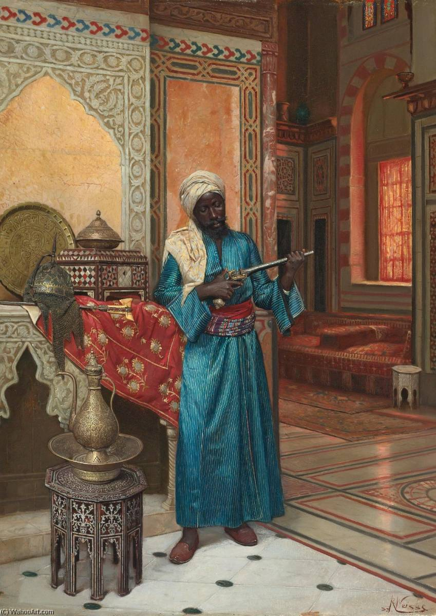 Buy Museum Art Reproductions | The Palace Guard by Rudolf Weisse | ArtsDot.com