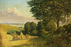 William Savage Cooper - Harvest Scene