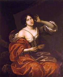 Benedetto Gennari The Younger - Lady Elizabeth Howard, Lady Felton, as Cleopatra