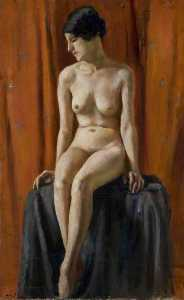 Mainie Jellett - Seated Nude