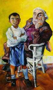 Peter De Francia - Old Man and a Boy