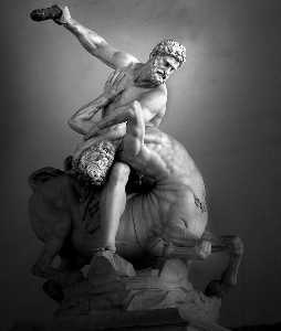 Jean Boulogne - Hercules and the Centaur ..