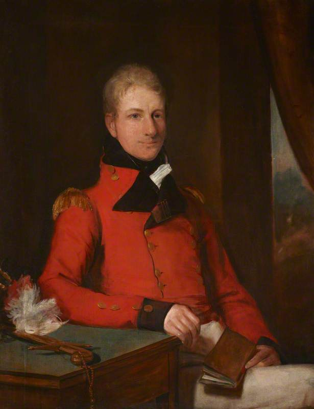 General the Honourable Sir Galbraith Lowry Cole (1772–1842), GCB, 1809 by Domenico Pellegrini (1759-1840) | Art Reproduction | ArtsDot.com
