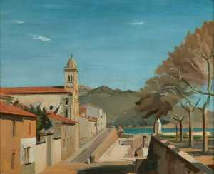Geoffrey C Nelson - The Church, Port Vendres