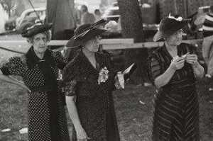 Benjamin Shahn - Women at Fourth of July Carnival and Fish Fry, Ashville, Ohio