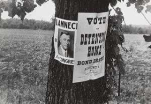 Benjamin Shahn - Campaign Posters, Central Ohio, Route 40