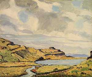 Emile Walters - Haukadal (Looking West)