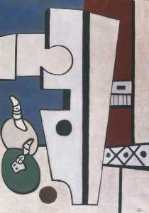 Fernand Leger - Composition with Fruit