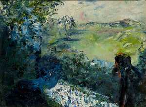 Jack Butler Yeats - Green Moss and Water