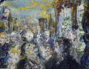 Jack Butler Yeats - People Preoccupied