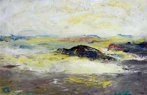 Jack Butler Yeats - Darrynane (In the Sun)
