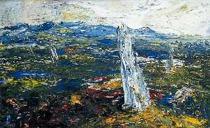 Jack Butler Yeats - The Ox Mountains, Ireland