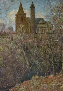 David Waterson - Brechin Cathedral and Round Tower