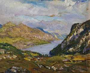 David Waterson - Loch Maree Ross shire
