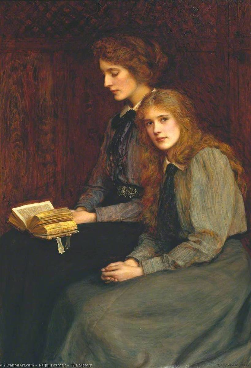 The Sisters, 1900 by Ralph Peacock | Painting Copy | ArtsDot.com