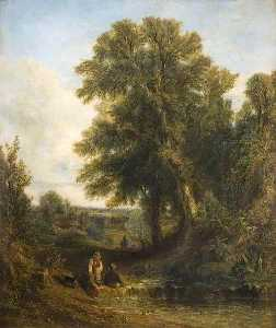 Thomas Creswick - English Landscape