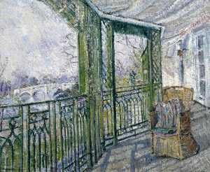 Louise Pickard - The Green Balcony