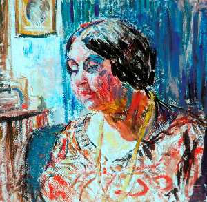 Louise Pickard - Study of Mrs M. Fisher Pr..