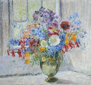 Louise Pickard - Still Life, Flowers