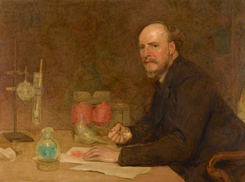 Sir James Dewar (1842–1923), Chemist (after William Quiller Orchardson), 1927 by Alfred Edmund Dyer | Reproductions Alfred Edmund Dyer | ArtsDot.com