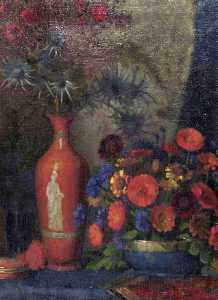 Vincent Galloway - Still Life with Flowers i..