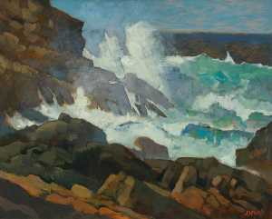 Ken Symonds - Heavy Seas, Sennen