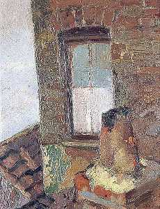 George Bergen - Chimney Pot and Window