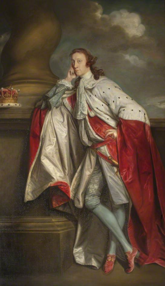 James Maitland (1718–1789), 7th Earl of Lauderdale (after Joshua Reynolds) by Theodore Ramos | Museum Art Reproductions Theodore Ramos | ArtsDot.com
