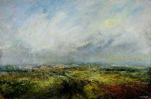 Kristan Paul Baggaley - Sheffield from Dore Moor