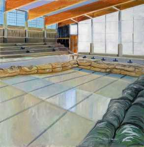 Colin David Tidbury - Interior View of the New Pool Nearing Completion