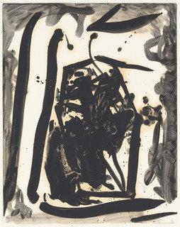 Spanish Wall 1, 1979 by Robert Motherwell (1974-1991, United States) | Art Reproduction | ArtsDot.com