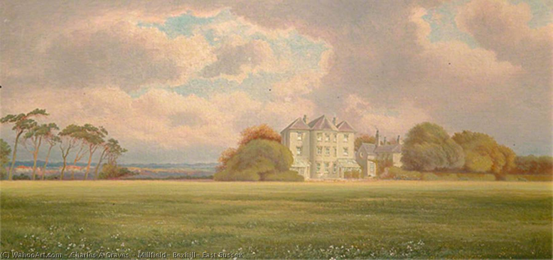 Millfield, Bexhill, East Sussex, 1904 by Charles A Graves | Art Reproduction | ArtsDot.com